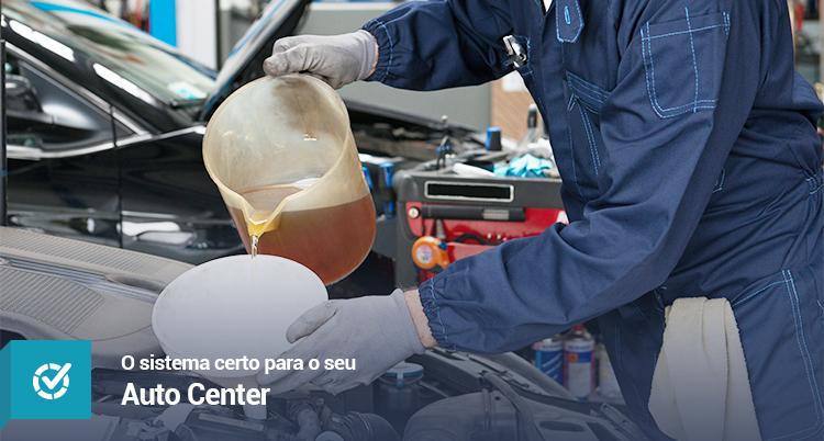 Sistema certo para seu Auto Center (Centro Automotivo)