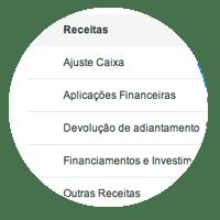 Categorias Financeiras