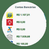 Contas Bancarias