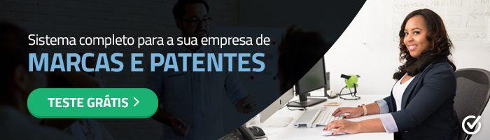 Sistema para empresas de marcas e patentes
