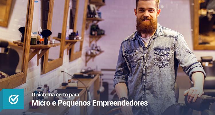 O Sistema certo para Micro e Pequenos Empreendedores