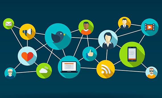 Como marcar presença nas redes sociais?