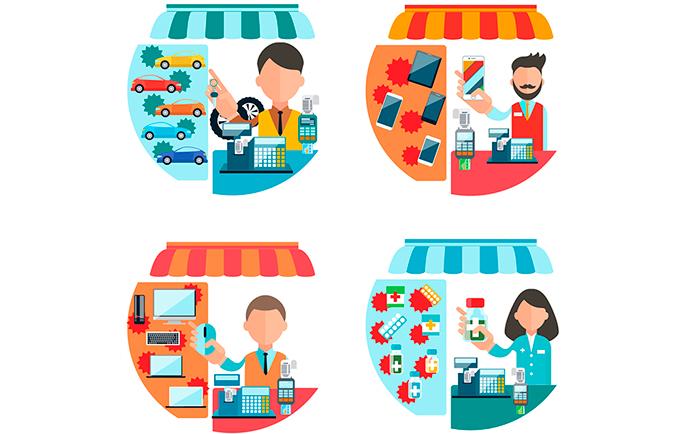 Entenda os conceitos de produto e serviço.