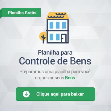 Planilha Controle de Bens download