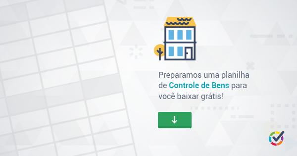 Planilha de controle de bens - Download