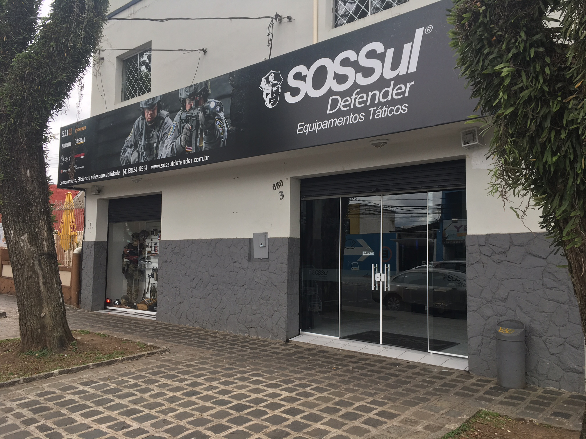 Fachada da SOSSul Defender