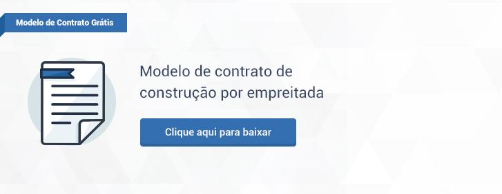 Modelo de contrato de construção por empreitada