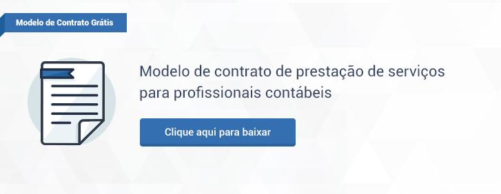 Modelo de contrato de prestação de serviços profissionais contábeis