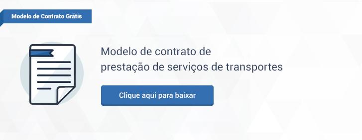 Modelo de contrato de prestação de serviços de transportes